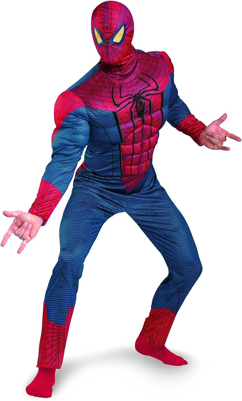 Adult Marvel Comics Superhero Movie The Amazing Spider-Man 2 Red Costume Gloves
