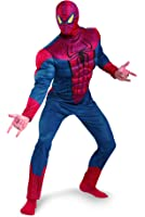 Disguise Marvel The Amazing Spider-Man 3D Movie Classic Muscle Adult Costume