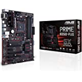 Asus Prime B350-PLUS AMD DDR4 S-ATA 600 ATX Motherboard - Black