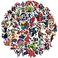 Superhero Avengers Stickers for Teens,Marvel Legends Stickers with Party Favors for Kids,Graffiti Waterproof Decals for…