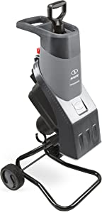 Sun Joe CJ602E-GRY 15 Amp Electric Wood Chipper/Shredder, One Size, Grey