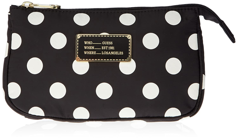 Damen Weekend Top Zip Hold All Handtaschen, Gelb (Leo), One Size Guess