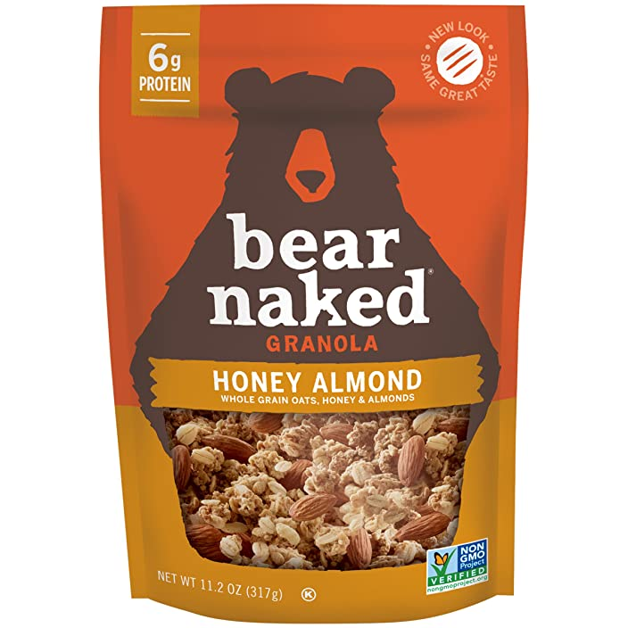 Bear Naked Granola, Honey Almond Protein