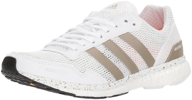 adidas Women's Adizero Adios W Running Shoe B075R871G7 6 B(M) US|Ftwr White, Cyber Met., Core Black