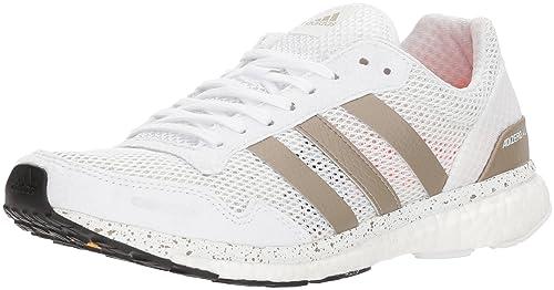 Adidas adizero adios 3 scarpe da corsa, sun bagliore giallo / bianco / shock