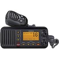 Uniden UM435BK 25-Watt Ipx8 Submersible Fixed Mount VHF Radio, Black