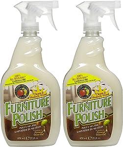 Earth Friendly Products Furniture Polish Spray - 22 oz - 2 pk