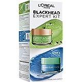 L'Oreal Paris Smooth Sugars Kiwi & Pure Clay Blue - Blackheads Expert Kit