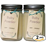 Candlecopia Strongly Scented Vegan Jar Candles x 2 Pack