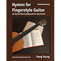 Hymns for Fingerstyle Guitar (Fingerstyle Fakebook Book 1) book cover