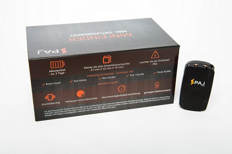 Mini Finder de PAJ- Marca Alemana- Localizador GPS para Niños, Personas Mayores, Perros, Gatos, Drones y Bolsos. Tracker: Amazon.es: Electrónica