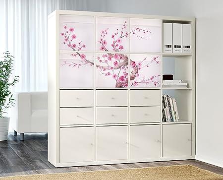 DRONA Personalizado Cajas de almacenaje IKEA Expedit o Kallax Insertar (Sakura árbol): Amazon.es: Hogar
