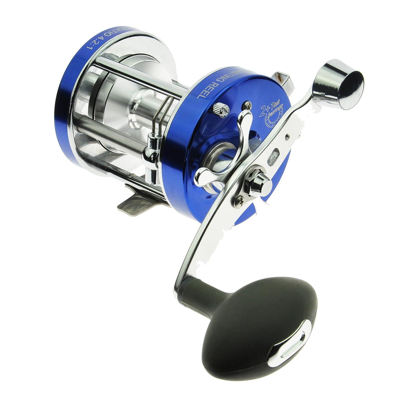 jekosen AグレードBaitcasting釣りリールトローリングリールcl70 a / cl70al / gs5000 / gs5000l / cl25 CL25 ブルー B07BJGSMTC