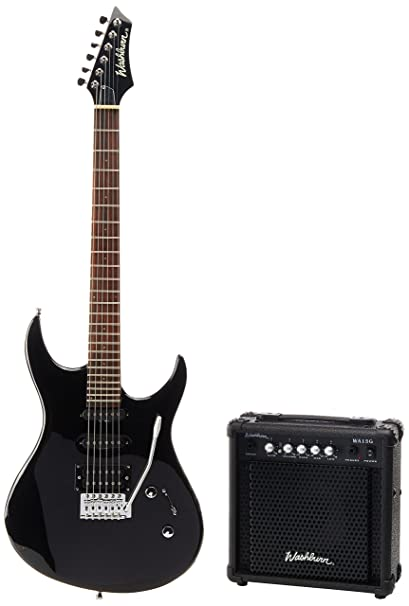 Washburn RX10B - Rx10 b pack guitarra electrica