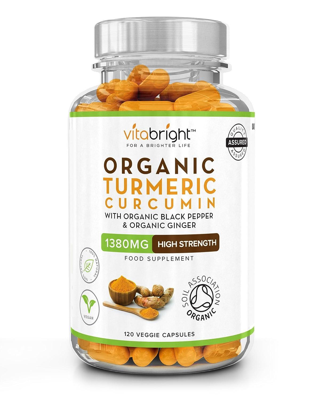 vitabright organic turmeric curcumin