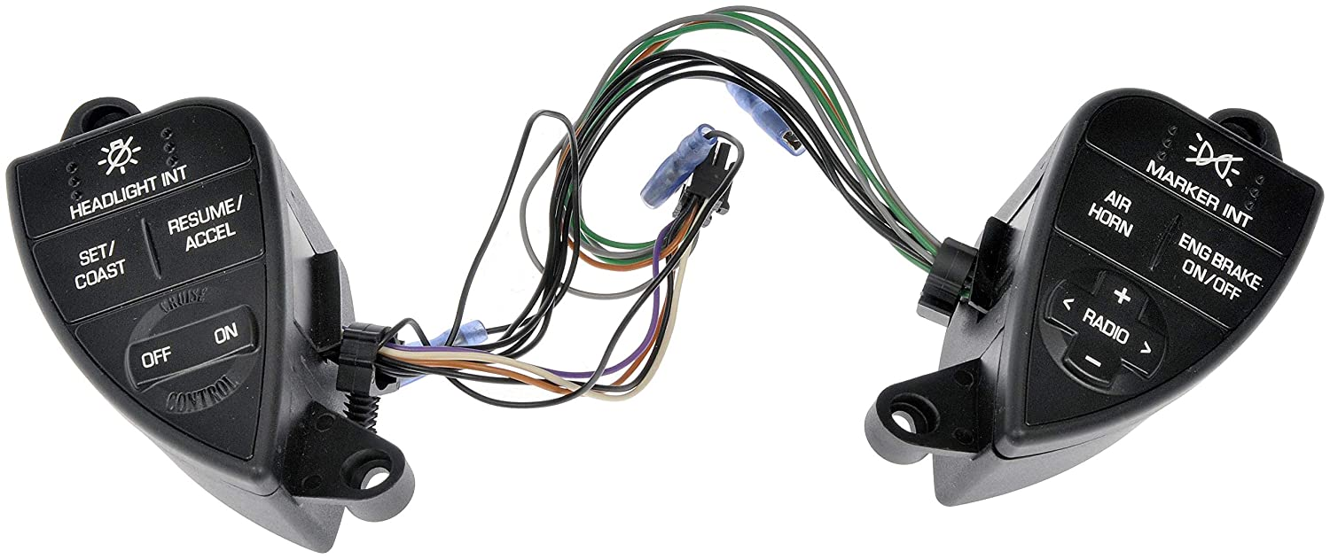 Dorman 901-5101 Driver Side Cruise Control Switch for Select International Prostar Trucks