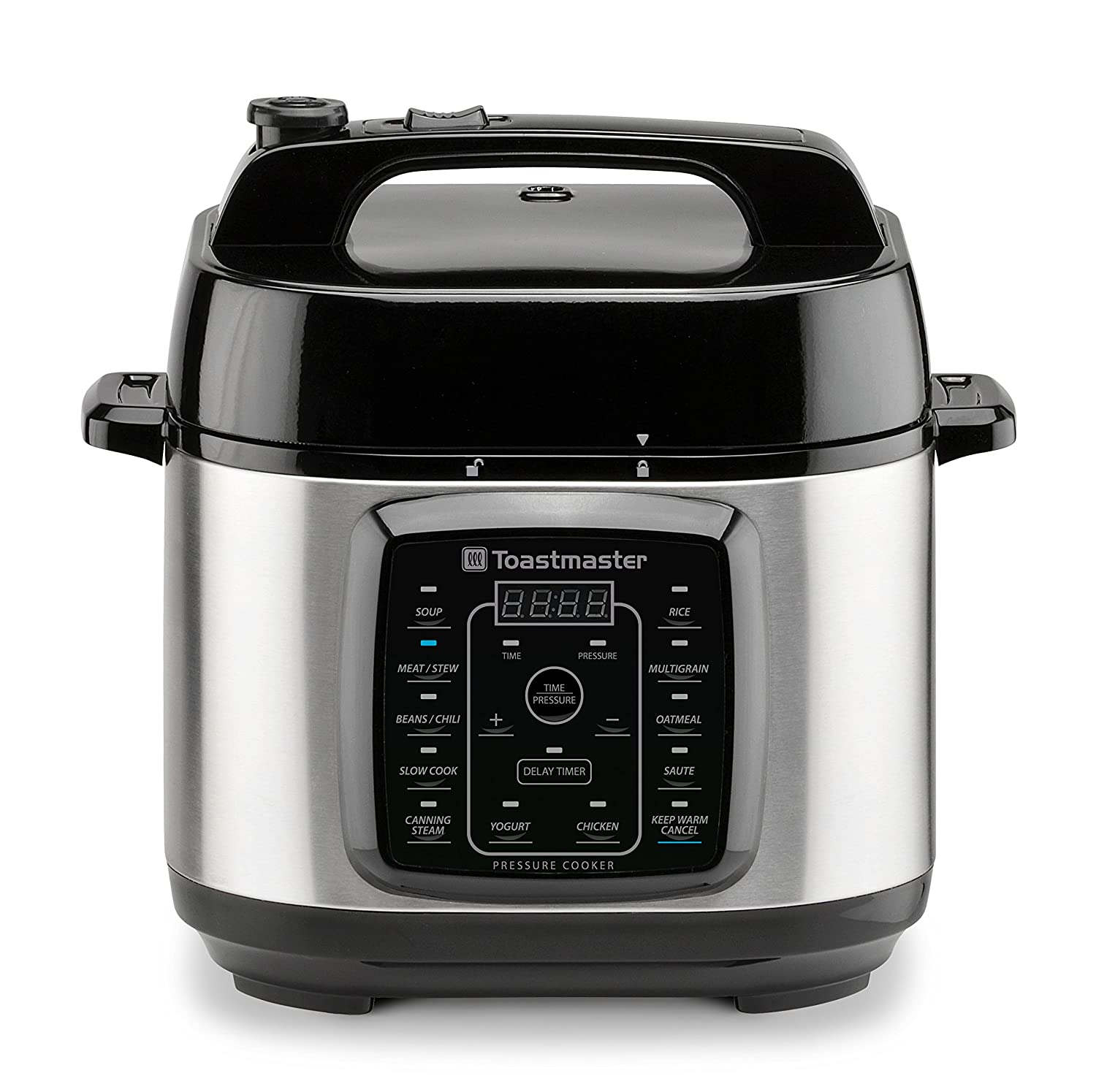 Toastmaster TM-670PC Electric Pressure Cooker 6 Quart Stainless Steel