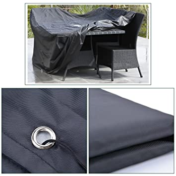 Patio Furniture Cover Dustproof Rainproof Oxford Patio Sofa Cover