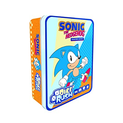 IDW Games Sonic The Hedgehog Dice Rush Board Games: Toys & Games [5Bkhe0405606]