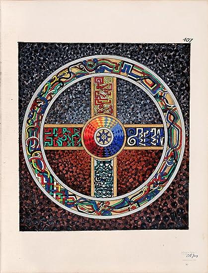 Amazon The Red Book Carl G Jungs Mandala 107 Fine Art