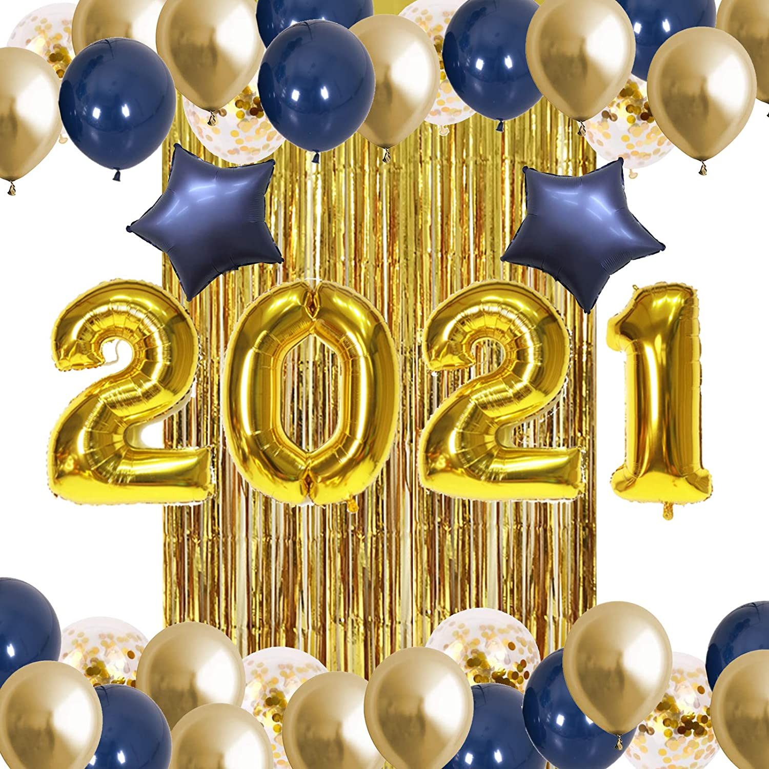ATFUNSHOP 2021 New Year Party Decorations 32