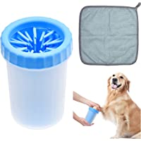 Kare & Kind Dog Paw Cleaner - Portable Washer Pet Cleaning Brush for Bathing and Grooming - Removes, Dirt, Mud, Debris…