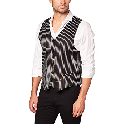 AMSCAN Roaring 20s Gangster Vest Halloween Costume Accessories, One Size: Toys & Games