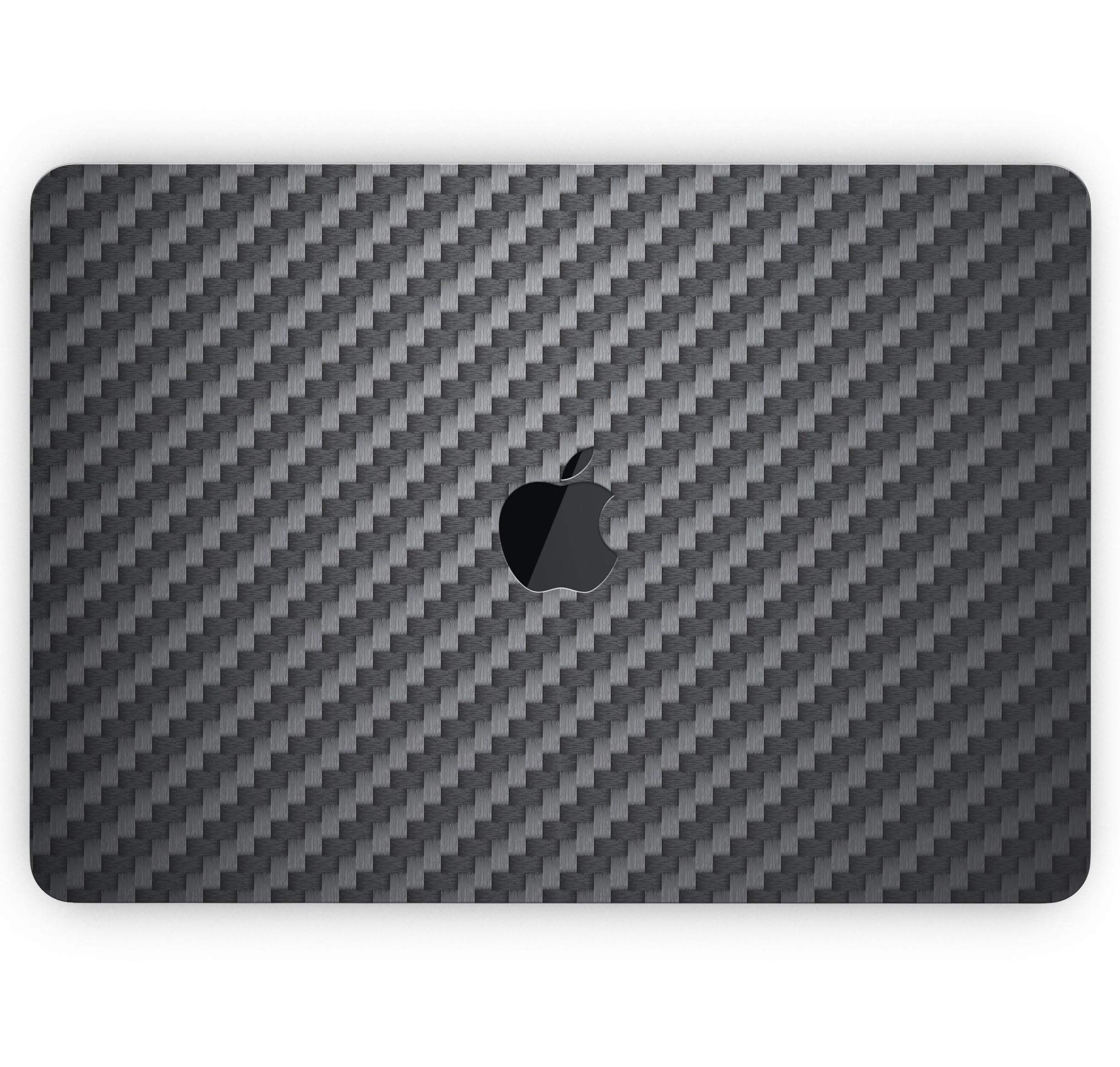 Carbon Fiber Texture - Design Skinz Premium Full-Body Cover Wrap Matte Finished Decal Skin-Kit for The MacBook Air 13'' (Model A1932)