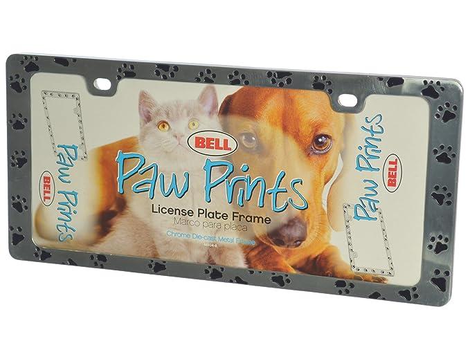 Bell Automotive 22-1-46455-8 Universal Chrome Die-Cut Design License Plate Frame