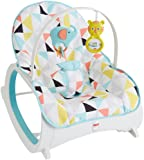 Amazon Price History for:Fisher-Price Infant-to-Toddler Rocker, Geo Multicolor