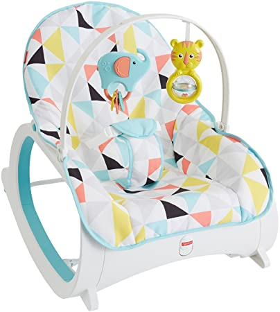 7bd3bdcbb Amazon.com   Fisher-Price Infant-to-Toddler Rocker