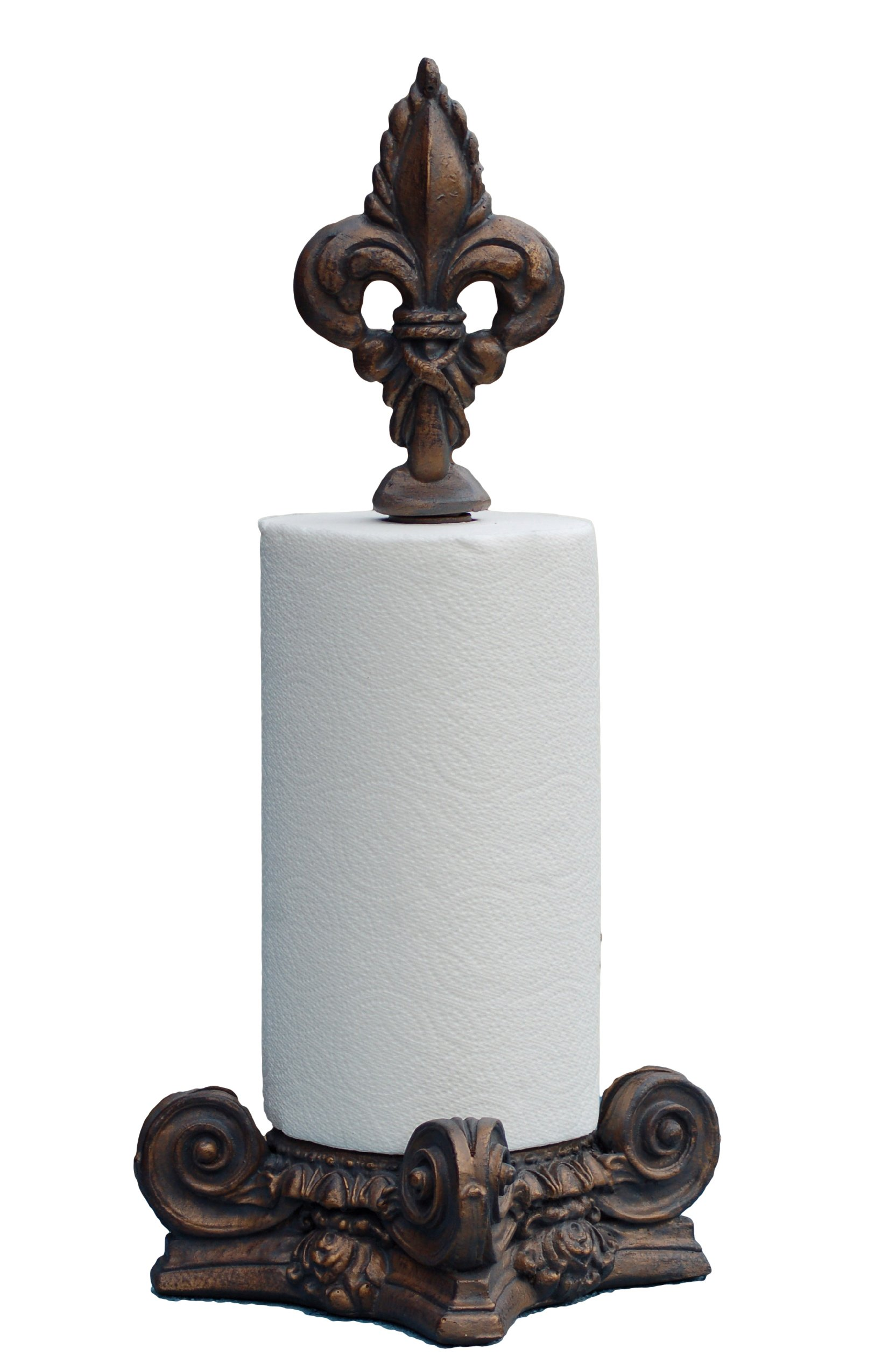 Hickory Manor House Fleur De Lis Top Paper Towel Holder/Venitian Venetian by Hickory Manor House
