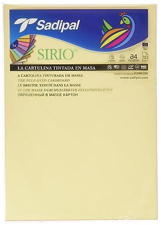 Sadipal 7388 - Pack 10 cartulinas A4, colores pastel: Amazon ...