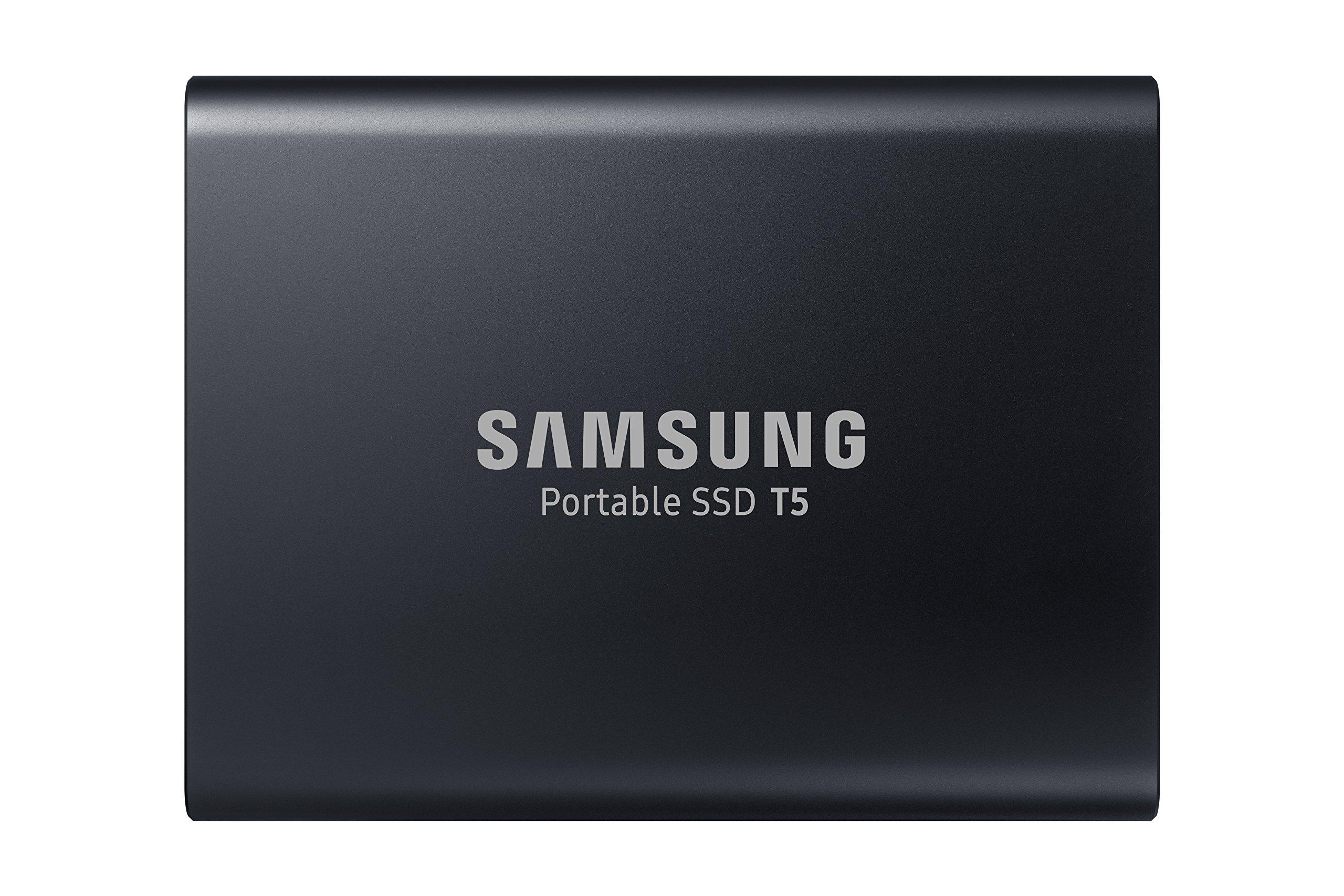 Samsung T5 Portable SSD - 1TB - USB 3.1 External SSD (MU-PA1T0B/AM) by Samsung