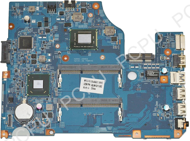NB.M1G11.002 Acer Aspire V5-571 Laptop Motherboard w// Intel Celeron Dual-Core 877 1.4GHz CPU
