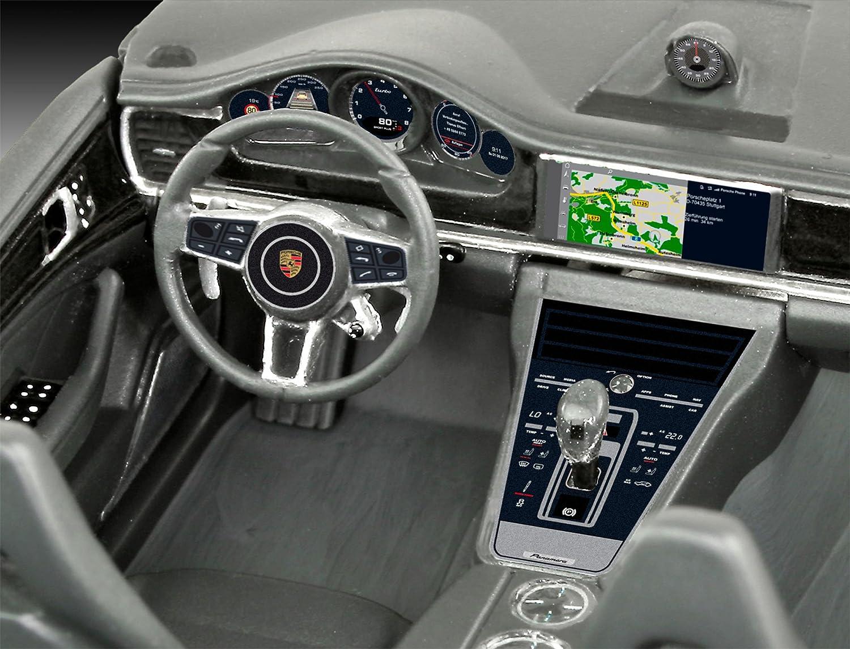 Revell Maqueta Porsche Panamera Turbo, Kit Modelo, Escala 1:24 (07034), Color Azul 21,1 cm de Largo (: Amazon.es: Juguetes y juegos