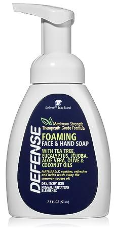 Review Defense Liquid Foaming Face