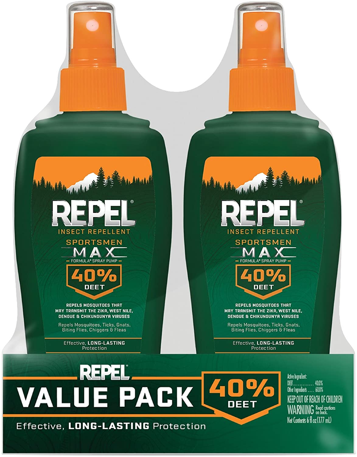 Repel Insect Repellent Sportsmen Max Formula Spray
