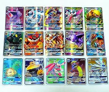 100pcs 80 EX+20 MEGA Cards Pokemon Card Holo Flash Trading GX Cards NO REPEAT US