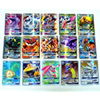 Mega EX Cards 200 pc Pokémon TCG Cards: 60 Méga Cartes & 53 ex Cartes & 80 gx Cartes & 7 énergie (Version Anglaise)