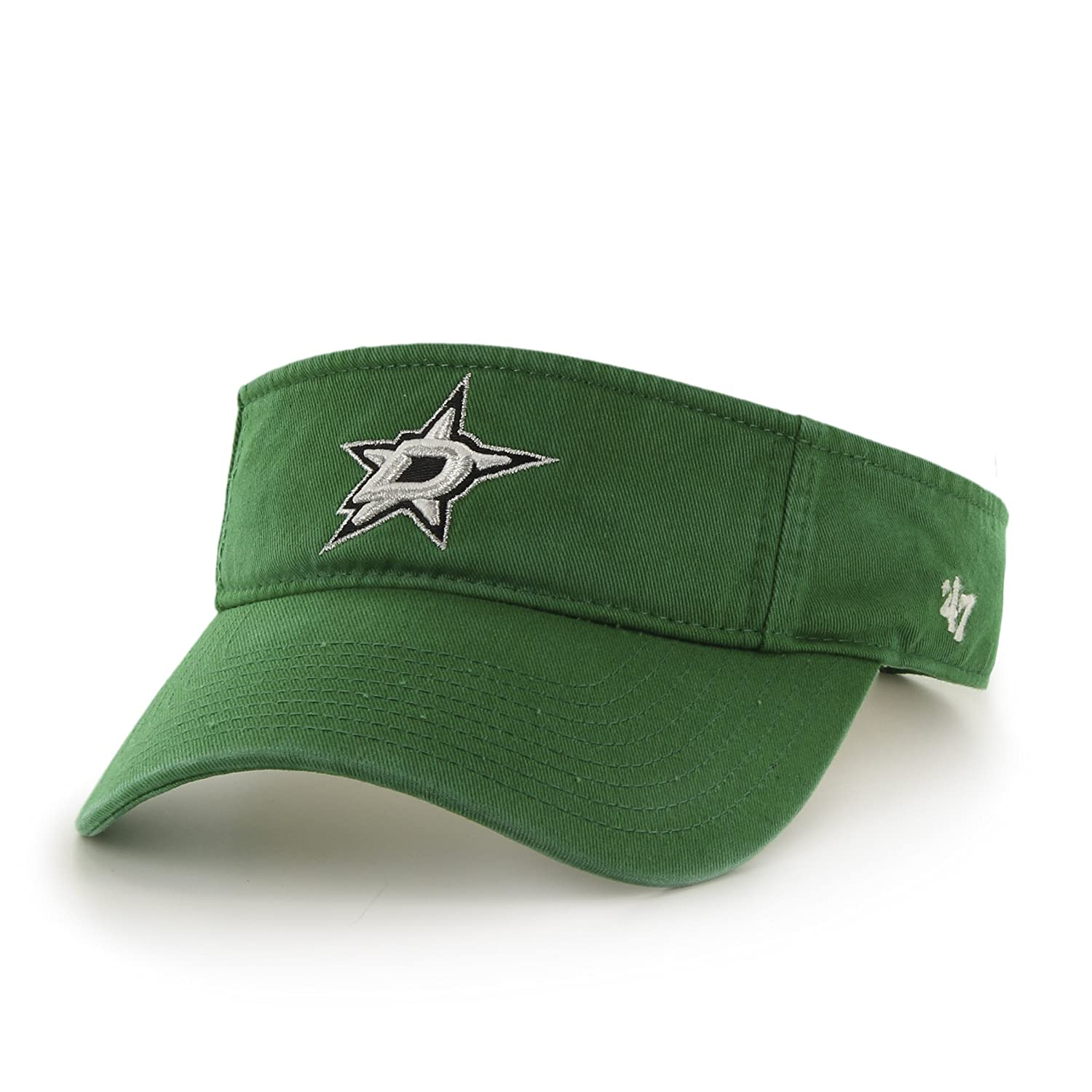 online store 6a2d5 eb46e Amazon.com    47 NHL Dallas Stars Clean Up Adjustable Visor, Kelly, One  Size   Sports   Outdoors