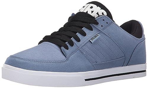 Osiris - Zapatillas de Skateboarding de Lona para Hombre Azul Azul y Negro: Amazon.es: Zapatos y complementos