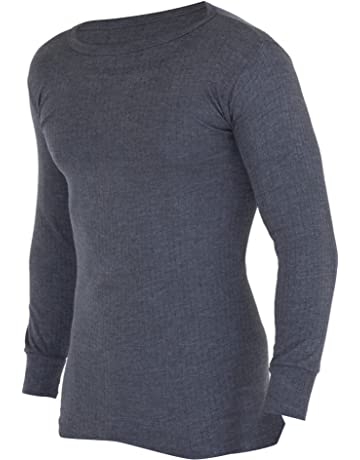 166d2f10c6 FLOSO Mens Thermal Underwear Long Sleeve Vest Top (Viscose Premium Range)