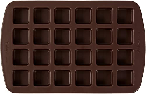 Wilton Bite-Size Brownie Squares Silicone Mold