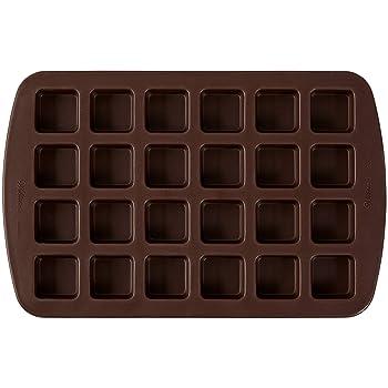 Wilton 24-Cavity Squares Silicone Pan