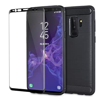 samsung galaxy s9 case and screen protector