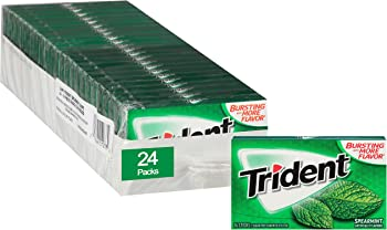 24-Pack Trident Spearmint Sugar Free Gum (366 Pieces Total)