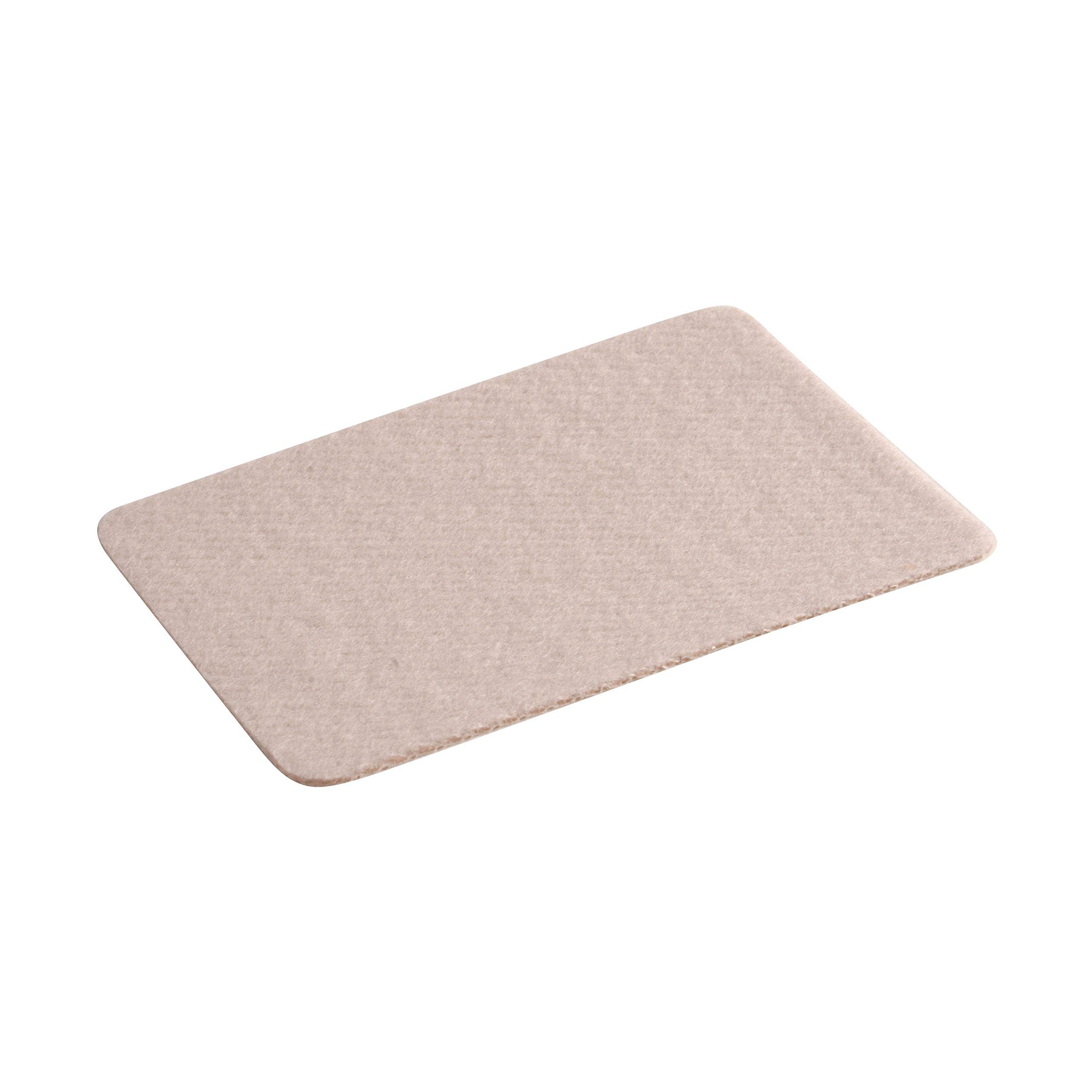 Steins 2 X 3 Inch Moleskin Sheets - Moleskin Foot Pads, 5 Count