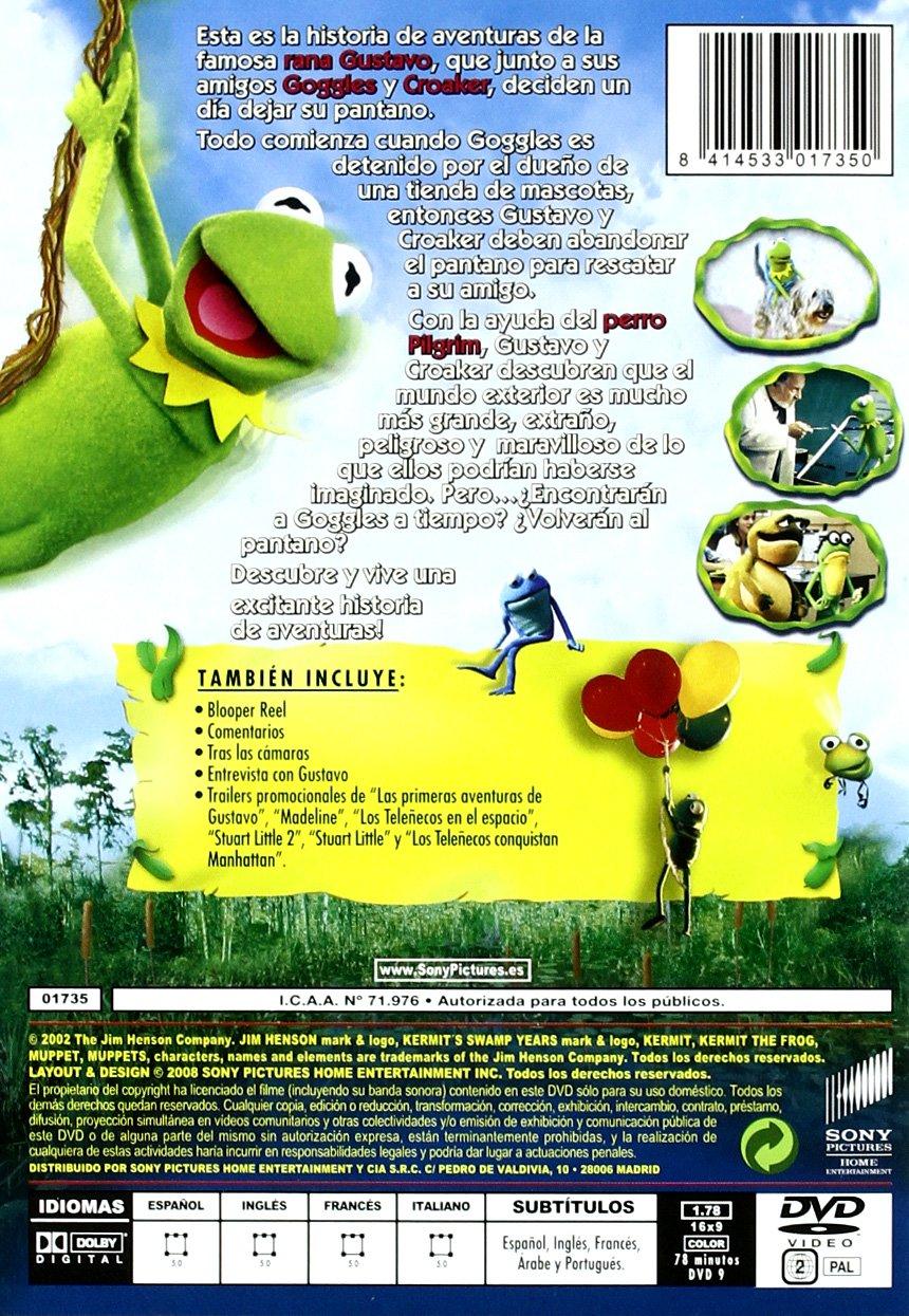 Las primeras aventuras de Gustavo DVD Amazones The Muppets