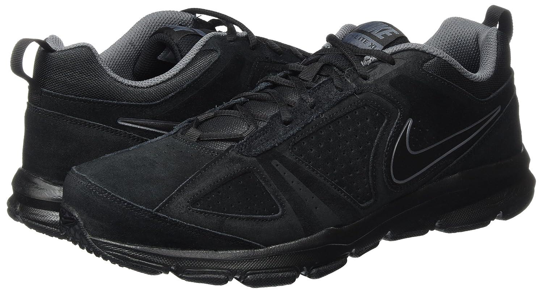 Mens T Lite Xi NBK Running Shoes, Black (Black (Black/Black-Dark Grey-Drk Grey)), 6 UK Nike
